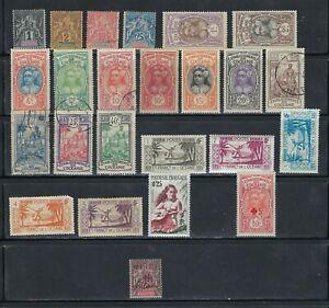 French Polynesia (Oceania) Lot, 1892 to 1958