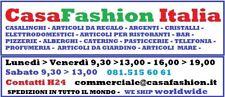 SET 6 PIATTI PIATTO PIZZA PLASTICA MELAMINA BIANCO LEGGERO DM 33 200785 FOTO
