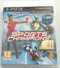 SPORTS CHAMPIONS GIOCO PS3 PLAYSTATION 3 ITALIANO OTTIMO SPED GRATIS SU+ACQUISTI