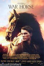 War Horse Asian Movie Poster-Steven Spielberg Film, Jeremy Irvine, Emily Watson