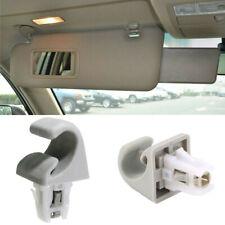 For Toyota Camry Corolla Highlander Prius RAV4 Gray Sun Visor Clip Hook Bracket