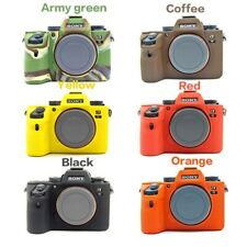 Soft Silicone Rubber Camera Bag For SONY A7III A7Mark3 A7RM3 A7R3 A7RIII A7M3 A9