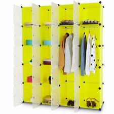20 Cube Portable Closet w/Doors Wardrobe Storage Cabinet Clothes Organizer