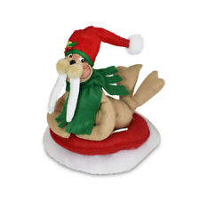 Annalee Dolls 2021 Christmas 8in Sliding Walrus Plush New with Tag