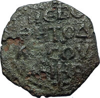 CRUSADERS of Antioch Tancred Ancient 1101AD Byzantine Time Coin St Peter i66314