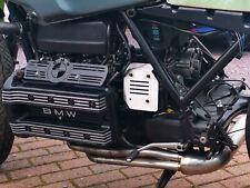 BMW K100 cubierta de la bobina de encendido Guardia Cepillado Acero Inoxidable Cafe Racer Scrambler Personalizado