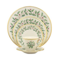 SALE OFF Lenox Holiday Dinnerware Collection(5 Piece Place Setting)
