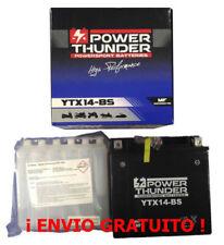 Batería YTX14-BS 12V 12Ah | Power Thunder | BTX14-BS | FTX14-BS | Moto | ¡24h!