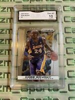 2013-14 Prizm Kobe Bryant #1 Los Angeles Lakers GMA gem mint 10 Psa Sgc Bgs Hga