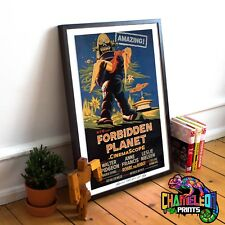 Forbidden Planet Movie Film Poster Print Picture A3 A4