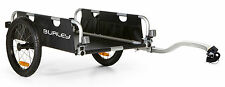 Burley Flatbed Compact Fold Bike Bicycle Cargo Trailer 100 LB Capacity NEW