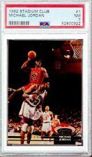 1992/93 Stadium Club Michael Jordan #1 PSA 7