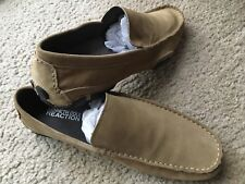 Kenneth Cole Reaction Men's Size 11 Taupe Suede World Hold On Loafers Shoes