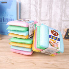 4PC Cleaning Sponge Foam Dish Pot Washing Scourer Brush Cleaning Pad Kitchen