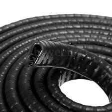 3 Meter Rubber Seal Strip U Shape Auto Car Door Edge Guard Mold Trim Black 1-3mm