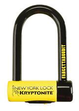 Kryptonite New York Fahgettaboudit Mini Bicycle Bike U Lock NY 3.25 x 6in