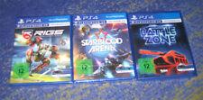 PlayStation 4 Starterpaket Sammlung PS4 VR Spiele Starblood RIGS Battlezone