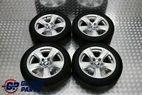 "BMW 5 Series E60 E61 Complete Set 4x Wheel Rim with Tyres 17"" Start Spoke 243"