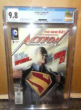 Dc Action Comics 9 CGC 9.8 earth 23 1st Black superman Calvin Ellis +Extra copy