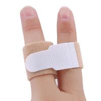 10Pcs Broken Hammer Toe Straightener Splints Brace Corrector Wraps Bandage G