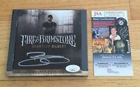 Brantley Gilbert Country Music Singer Signed Autograph Fire Brimstone CD JSA COA