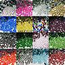 2000 Crystal Flat Back Rhinestone Gems Diamante Bead Nail Art Craft 2 3 4 5mm Ih