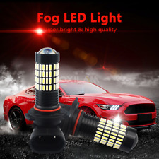 2800Lumens H10 9140 9145 White LED Fog Light Bulbs for Ford Expedition 1999-2011