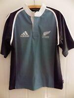 New Zealand All Blacks Rugby Union 2002 2003 Adidas Shirt Retro Top Jersey Away