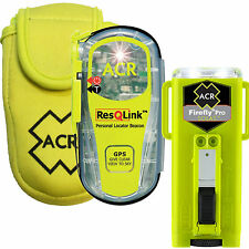 ACR RESQLINK PERSONAL PLB EPIRB 406MHz GPS SOLAS STROBE LIGHT