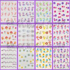 Diseño de arte de uñas en 2D