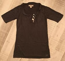 Burberry 4 Ans Fille  : Robe Pull Hiver Grise BE