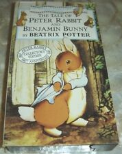 The Tale of Peter Rabbit and Benjamin Bunny (VHS, 1993, Slipcase cover)