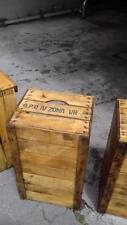 Cassette legno di faggio frutta vintage naturali librerie e scaffali 51x31x28