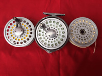 Vintage Gladding Intrepid Gear Fly Fishing Reel with 2 spare spools