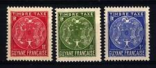 FRENCH GUIANA - GUYANA FRANCESE - 1947 - Segnatasse - Stemma