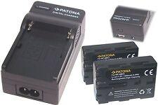4in 1 Ladegerät  und 2 * Akku für Sony  DSC-S85  DSC-S75  DSC-F707   DSC-F828