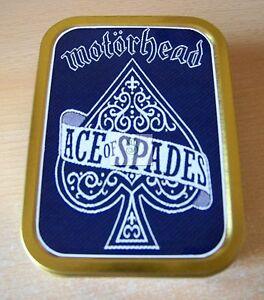 Motorhead Ace of Spades 1 and 2oz Tobacco/Storage Tins