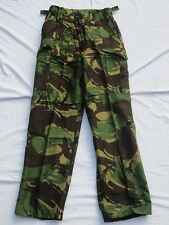 Trousers Combat, 1968 Pattern, DPM Camo pants ; Size 1 (Small) ,29 7/8in Waist