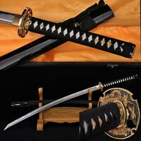 Hand Forge Japanese Samurai Sword Katana High Carbon Steel Full Tang Blade Sharp