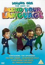 Mind Your Language The Best Of Volume 1 DVD Original UK Release New Sealed R2