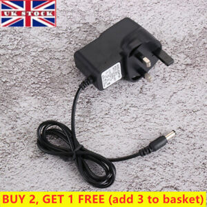 UK 6V 1A AC/DC Power Supply Adapter Charger Plug Mains Transformer For Toy Cars