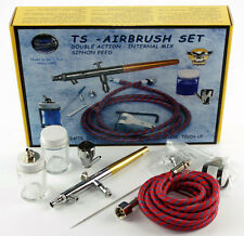 Paasche TS-SET Talon Double Action Siphon Feed Airbrush Set TS