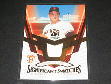 GAYLORD PERRY GIANTS STAR LEGEND AUTHENTIC GAME USED CERTIFIED JERSEY CARD RARE