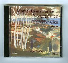 CD (NEW) MARCEL HENRI FAIVRE GROUPE ETUDES