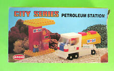 Vintage 1988 ATCO #3011 City Series Mobil Petroleum Station Ultra Rare Toy New