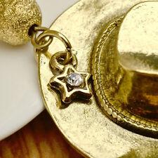 The Walking Dead Cap Hat Design Punk Necklace Cowboy Hat Chain NEW ARRIVAL