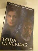 Dvd  TODA LA VERDAD con ashley judd y morgan freeman ( coleccionistas )