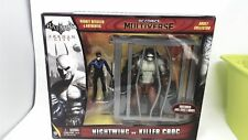 Batman nightwing vs killer croc action figure nuovo