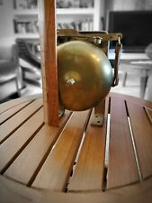 Vintage Bronze or Brass Boxing Ring Bell Spring Loaded Loud 1950s?