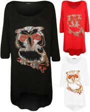 3/4 Sleeve Tops & Blouses for Women with Glitter